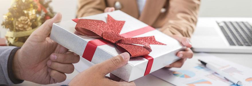 cadeau client fin d'année